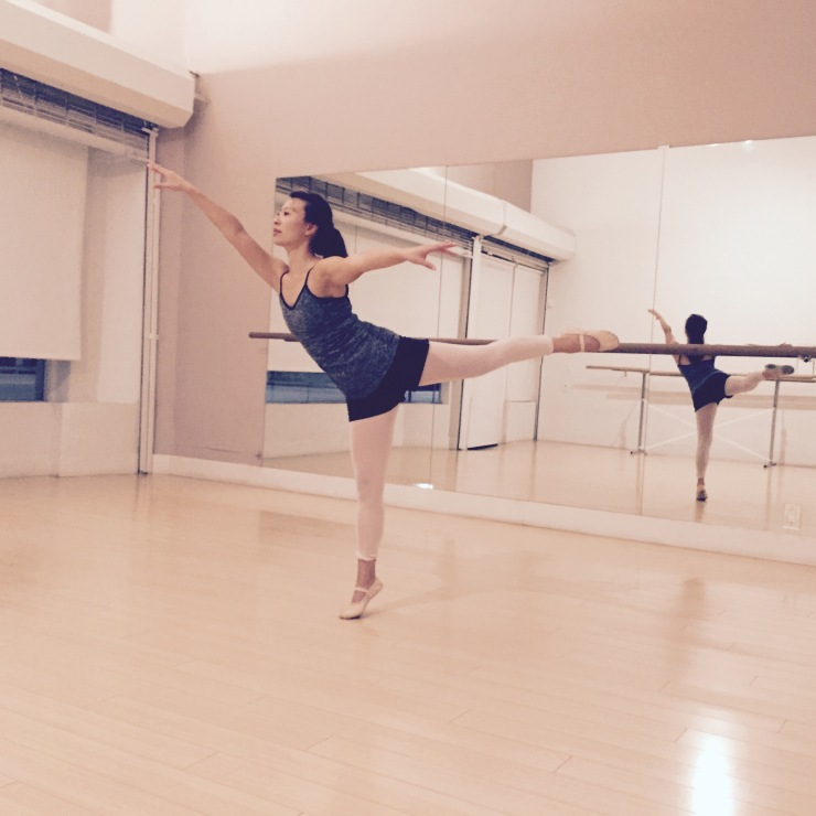 Ballet Barre and Center