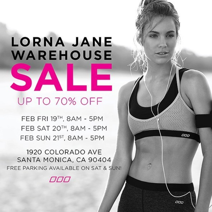 Lorna Jane Sample Sale